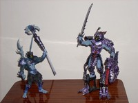 Skeletor Ice Armor & Samurai